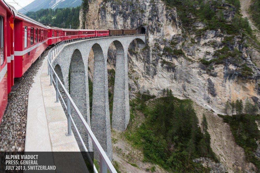 Alpine viaduct copyright Paul Clarke