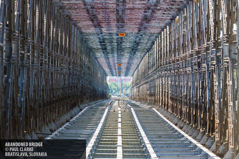 Bratislava bridge copyright Paul Clarke
