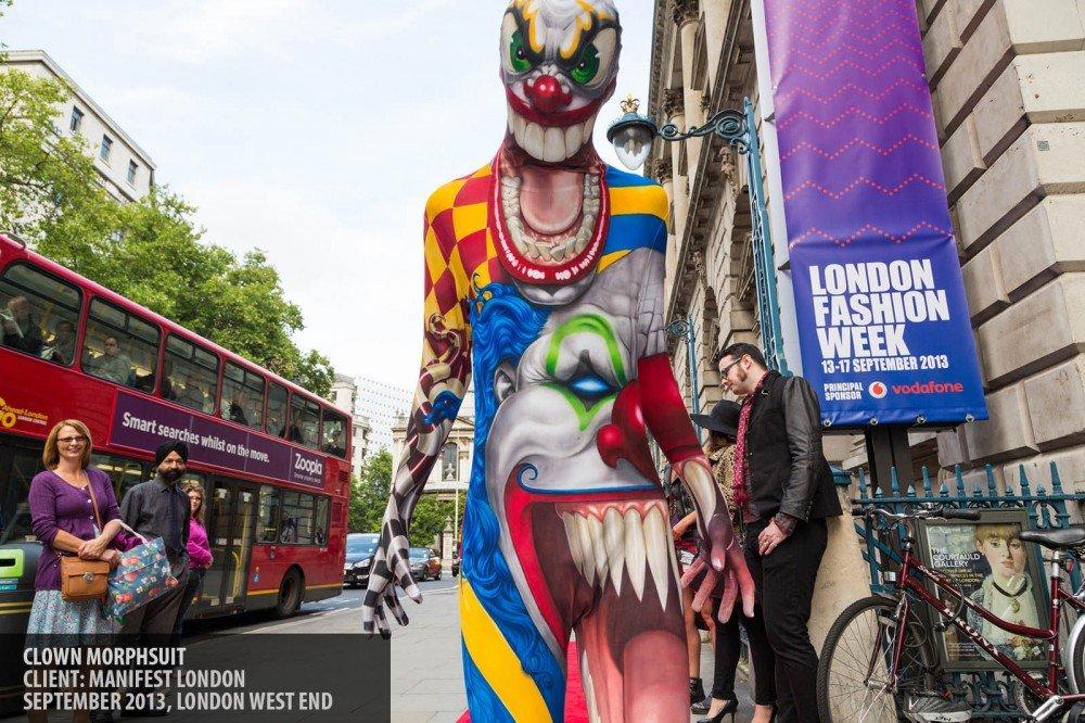 Clown suit copyright Paul Clarke