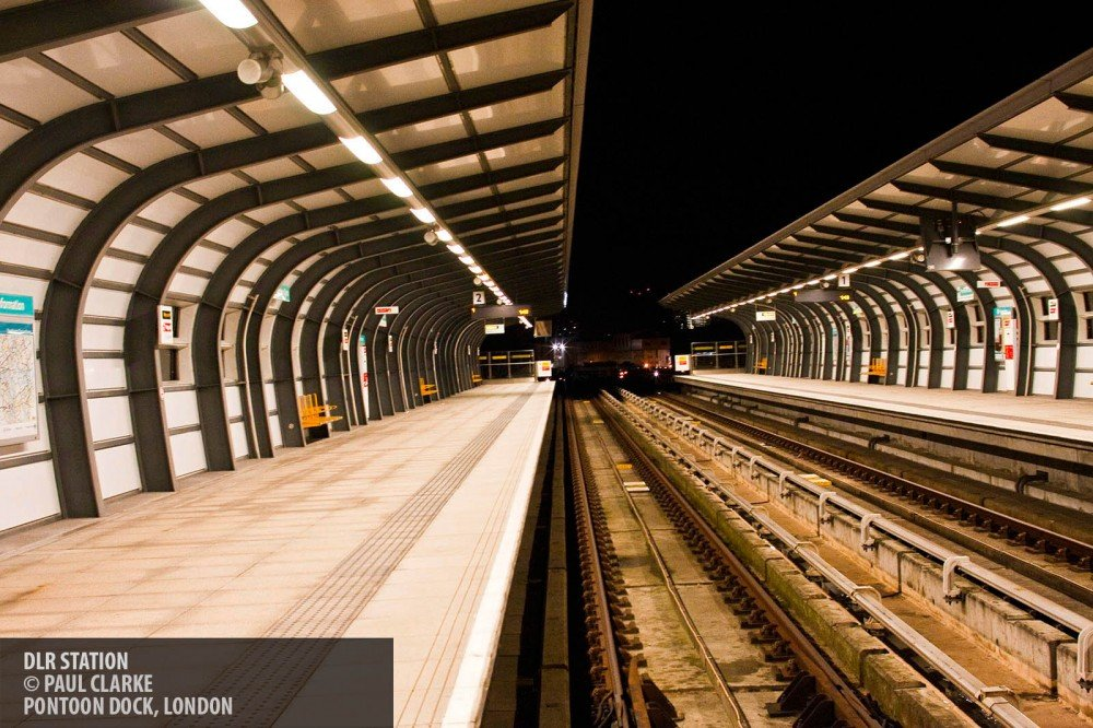 DLR station copyright Paul Clarke