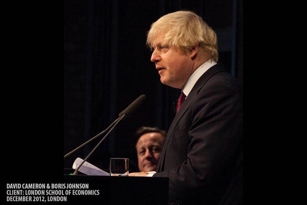 David Cameron & Boris Johnson photography copyright Paul Clarke