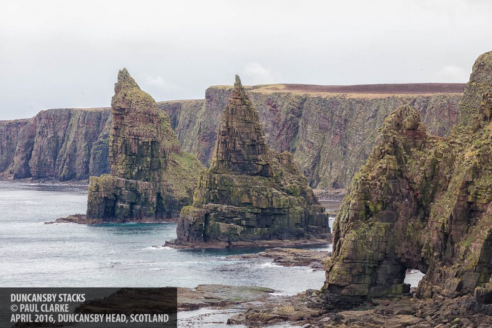 Duncansby Stacks copyright Paul Clarke