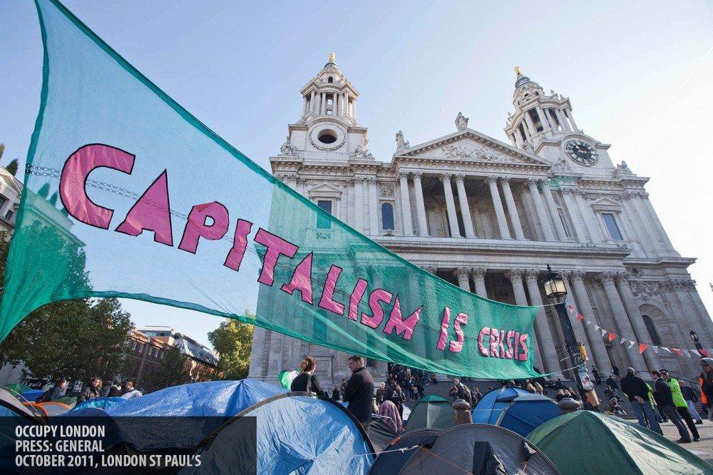 Occupy London copyright Paul Clarke