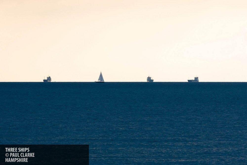 Three ships copyright Paul Clarke