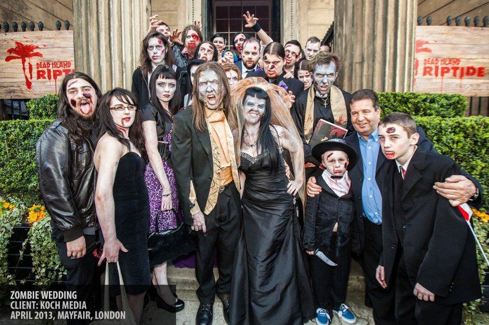 Zombie wedding copyright Paul Clarke