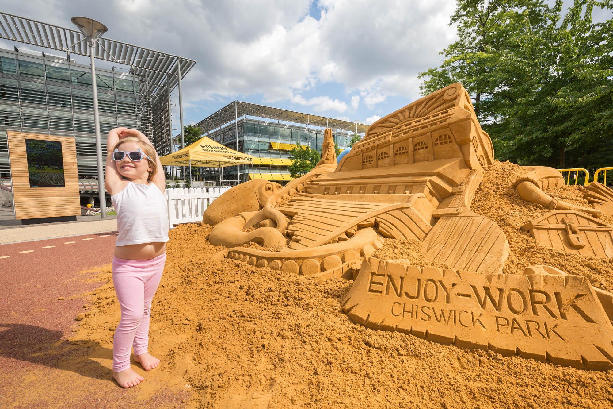 33 Sand sculpture