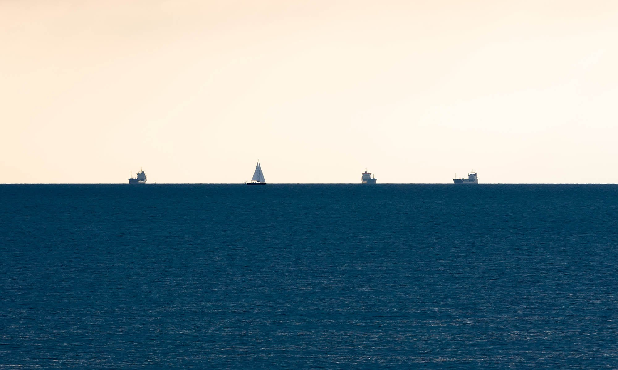 43 Three ships